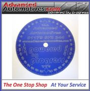 Engine Timing Degree Disc 170mm Advanced Automotive Blue Anodised Aluminium
